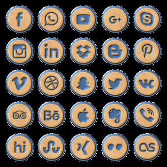 logos des médias sociaux